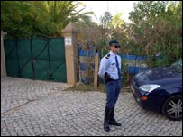 Casa Liliana, sealed off by police looking for Madeleine McCann
