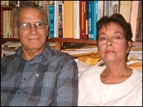 Oscar Espinosa and Miriam Leyva