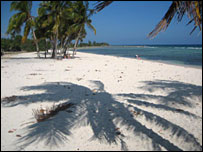 Beach at the Bay of Pigs