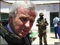 Top UN humanitarian official, John Holmes