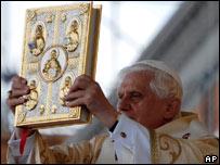 Benedicto XVI en Brasil