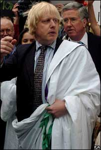 MP Boris Johnson