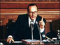 Jacques Chirac as mayor of Paris 