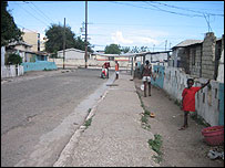 A Trench Town street