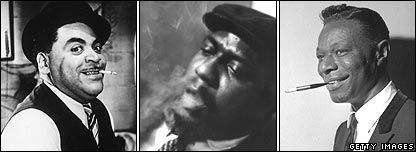 Fats Waller, Thelonius Monk, Nat King Cole