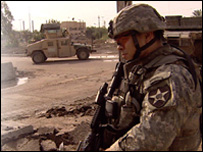 troop in Baghdad