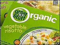 Asda food packaging