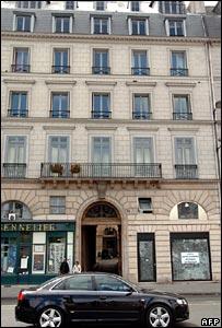 Mr Chirac's new flat in Paris