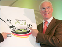 Franz Beckenbauer backs Germany's bid
