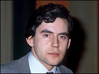 Gordon Brown in 1983