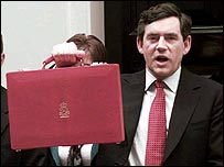 Gordon Brown's first Budget
