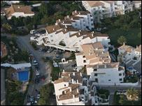 Aerial shot of Praia da Luz (Credit Solarpix)