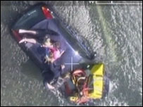 Holy Island rescue