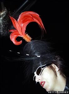 Isabella Blow in glamorous hat