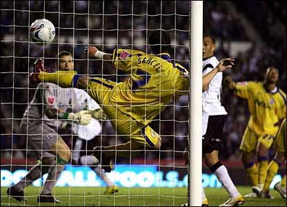 Southampton react to Leon Best's own goal