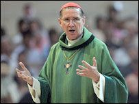 Cardinal Roger Mahoney, Archbishop of Los Angeles