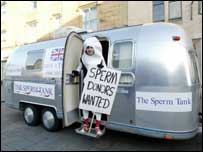Sperm donation centre