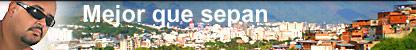 Imagen de Jogreg junto al título de esta entrega, en el fondo vista de Caracas