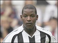 Former Newcastle defender Titus Bramble
