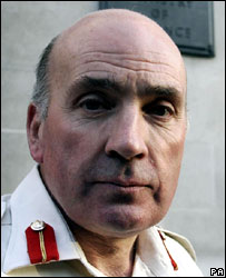Sir Richard Dannatt said the risk to Prince Harry was too great