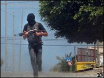 Gunman in Gaza