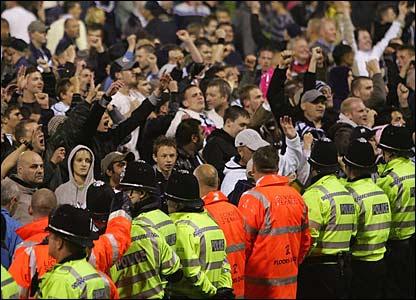 West Brom fans