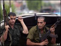 Militantes armados de Fatah