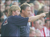Stuart McCall and Neil Warnock