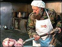 Afghani army chef