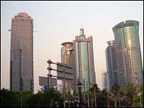 Financial sector, Shanghai