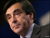 French Prime Minister Francois Fillon