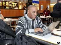 Wi-fi in cafe, AP