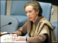 Margaret Beckett at the UN debate