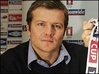 Kettering manager Mark Cooper