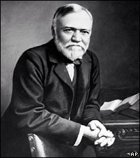Andrew Carnegie, industrialist turned philantropist