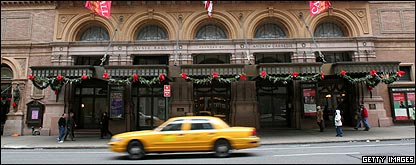 Carnegie Hall. In New York