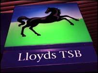 Lloyds TSB sign