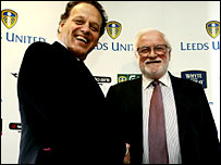 Gerald Krasner (left) and Ken Bates