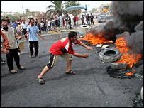 Iraq protest near Basra