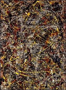 Jackson Pollock's No 5. 1948