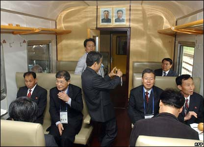 North Korea carriage
