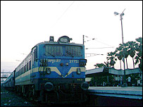 Train in Bihar