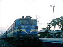 Train in Bihar