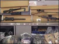 UVF weapons
