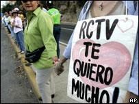 Manifestación por RCTV