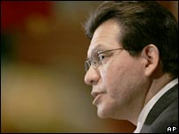 Attorney General Alberto Gonzales. File photo
