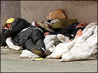 Rough sleepers