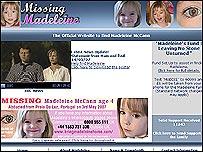 Find Madeleine website
