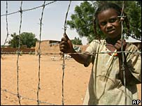 Girl in Darfur