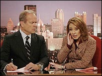Kelsey Grammer and Patricia Heaton